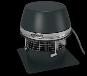 Aspiratori per camini - Exodraft RSHT ad espulsione orizzontale e resistente alle alte temperature
