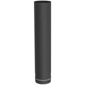 Tubi per stufe a pellet - Tubo 500 mm - nero - Tecnovis-Pellet-Line