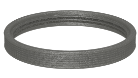 Canna fumaria coassiale - Anello di tenuta per tubo interno - Tecnovis TWIN-P