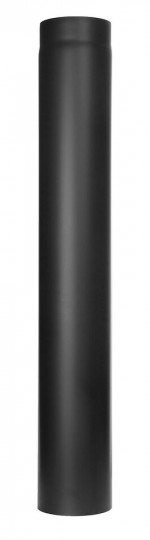 Tubi per stufe a legna - Tubo 1000 mm - nero -TEC-Ferro-Lux