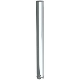 Tubi per stufe a pellet - Tubo 1000 mm - non verniciato - Tecnovis-Pellet-Line