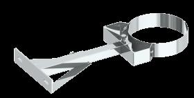 Canna fumaria coassiale - Staffa di fissaggio 250-360 mm - Tecnovis TWIN-P