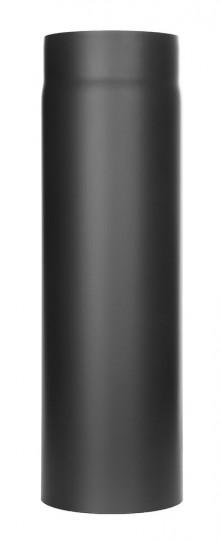Tubi per stufe a legna - Tubo 500 mm - nero - TEC-Ferro-Lux