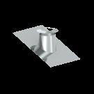 Canna fumaria coassiale - Faldale per tetti inclinati di 16°-25° con bordo malleabile e scossalina - Tecnovis TWIN-P