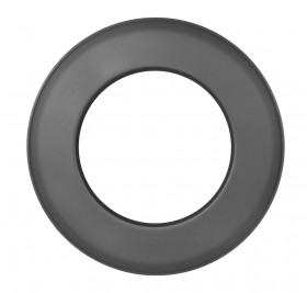 Tubi per stufe a legna - Rosetta 55 mm - nero - TEC-Ferro-Lux
