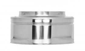 Canna Fumaria - Tappo di chiusura - doppia parete - TEC-DW-Standard