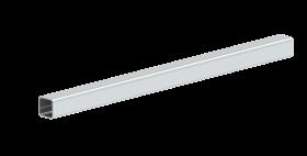 Canna fumaria - Prolunga staffa di fissaggio 30x30 mm L: 500 mm - doppia parete - TEC-DW-Standard