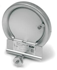 Regolatore di tiraggio 012 / 012 E - Kutzner & Weber