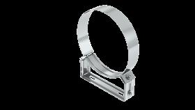 Canna Fumaria - Staffa di fissaggio regolabile 50-70 mm - doppia parete - TEC-DW-Standard
