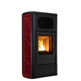 Stufa a pellet RED Orchidea Multiair 11 kW