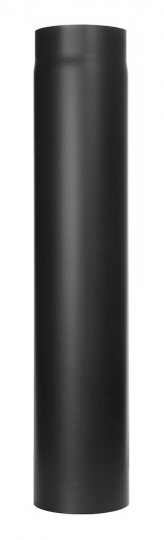 Tubi per stufe a legna - Tubo 750 mm - nero - TEC-Ferro-Lux
