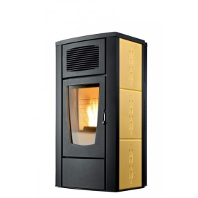Stufa a pellet RED Margherita Air 8 kW