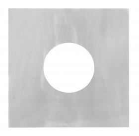 Canna Fumaria - Pannello di chiusura 0° - doppia parete - TEC-DW-Standard