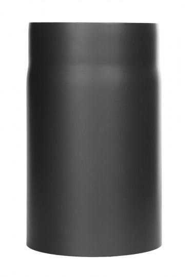 Tubi per stufe a legna - Tubo 250 mm - nero - TEC-Ferro-Lux