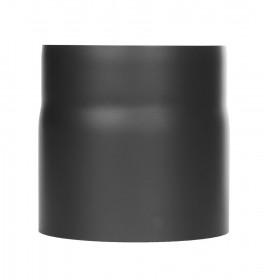 Tubi per stufe a legna - Tubo 150 mm con anello anticondensa - nero - TEC-Ferro-Lux