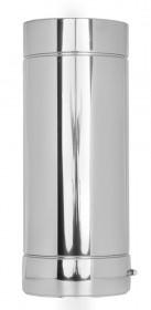 Canna Fumaria - Tubo 500 mm - doppia parete- TEC-DW-Standard
