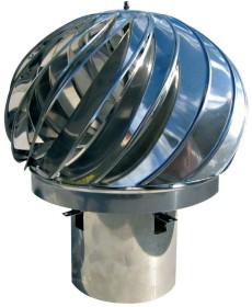 Comignolo rotante S-Line - in acciaio inox - Raab