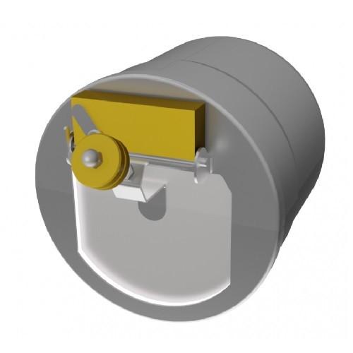 Regolatore di tiraggio Z130 / ZUK130 - Kutzner & Weber