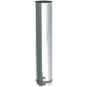 Tubi per stufe a pellet - Tubo 500 mm - non verniciato - Tecnovis-Pellet-Line