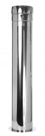 Canna Fumaria - Tubo telescopico 60 - 1115 mm con scarico condensa laterale - doppia parete - TEC-DW-Standard