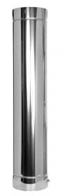 Canna Fumaria - Tubo 1000 mm - doppia parete - TEC-DW-Standard