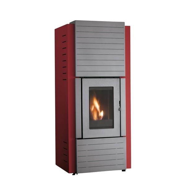 stufa a pellet palazzetti ecofire marta idro 10 kw caminoteca. Black Bedroom Furniture Sets. Home Design Ideas