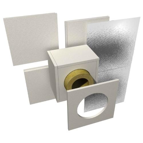 Boccola ignifuga per pareti spesse fino a 120 mm - Raab