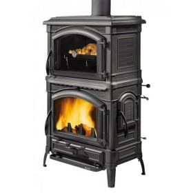 Stufa a legna La Nordica Isotta con forno 11,5 kW