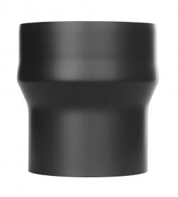 Tubi per stufe a legna - Maggiorazione - nero - TEC-Ferro-Lux