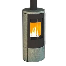 Stufa a legna Olsberg Pacaya Compact 5kW con presa d'aria esterna