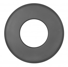 Tubi per stufe a legna - Rosetta 85 mm - nero - TEC-Ferro-Lux