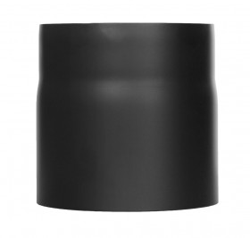 Tubi per stufe a legna - Tubo 150 mm - nero - TEC-Ferro-Lux