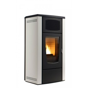 Stufa a pellet RED Gardenia Air 8 kW