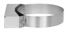Canna Fumaria - Staffa di fissaggio 50 mm - doppia parete - TEC-DW-Standard